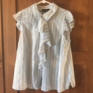 Lane Bryant sleeveless blouse, size 20.